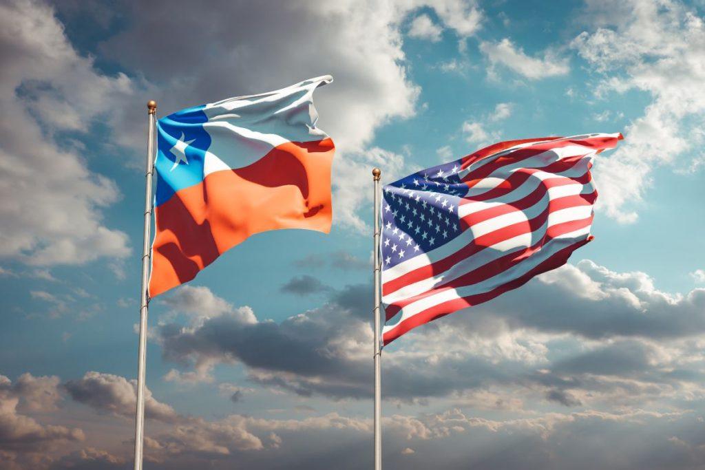 Chile comercio con EE.UU.